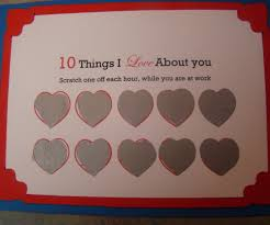 how to make a scratch off valentine steps pictures