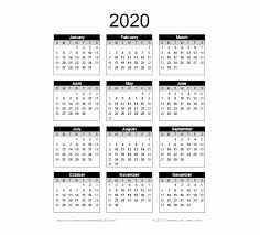 Small Printable 2020 Calendar 2020 Calendar Png Pic Free Printable Yearly Calendar 2019