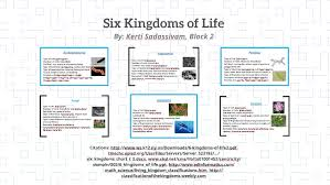 6 Kingdoms Of Life Chart Http Www Ws K12 Ny Us Downloads 6 Kingdoms Of Life2 Pdfhtt