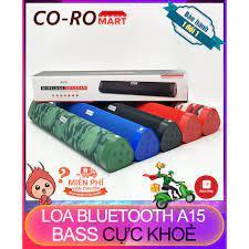 New 2021 Loa Bluetooth Không Dây Wireless Speaker A15, Bass Siêu Trầm, Chất  Lượng Cao, Bảo Hành 12 Tháng