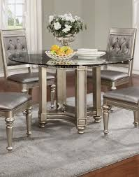 bling game silver dining room set