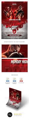 Ufc Flyer Template Ufc Flyer Template] Fitness Gym Flyer Template Boxing Sports Event 15