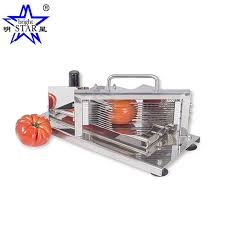 China Table Fixed <b>Manual Stainless Steel</b> Tomato <b>Slicer</b> with Br317 ...
