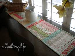 Simple Table Runner--A Tutorial | A Quilting Life - a quilt blog & Simple Table Runner--A Tutorial Adamdwight.com