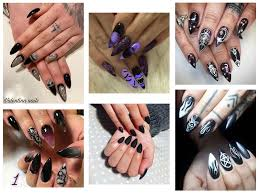 Halloween Nail Designs 2019 25 Horror Scary Halloween Witch Nails Art Designs Ideas