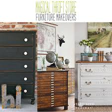 furniture makeovers. Magical Thrift Store Furniture Makeovers S