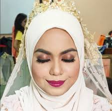 tutorial you natural bentuk kening yang sesuai untuk pengantin cara makeup