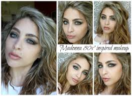 madonna 80s inspired makeup like a virgin valemaya