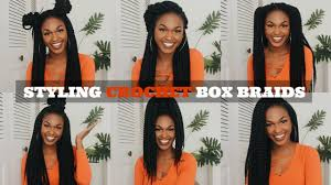 Box Braids Hair Style 12 easy crochet box braid hairstyles youtube 7356 by wearticles.com