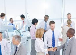 the office the meeting. Download Group Of Business People Meeting In The Office Stock Photo - Image Advice,