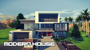 Small Picture Modern House Design The Sims 4 YouTube