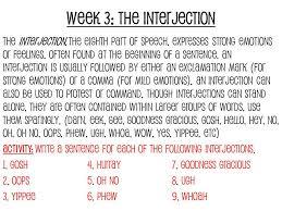 juniors semester old bellwork grammar week 3