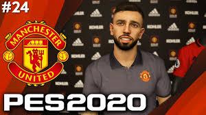 PES 2020: Manchester United Master League #24 - BRUNO FERNANDES SIGNS!