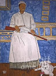 Mary Fields - Stagecoach Mary Painting by David Horst