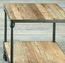 decoration restoration hardware side table tables industrial distressed nicholas round