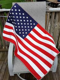 PATRIOTIC AMERICAN FLAG Quilt For Sale Stars and Stripes Red & Like this item? Adamdwight.com