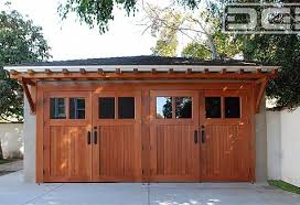 craftsman style garage doorsCraftsman Style Carriage Garage Doors Crafted by Hand in Solid