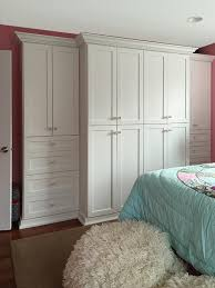 custom wardrobe closet for bedroom with no closet