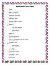 Wedding Ceremony Checklist | Wedding Checklist - Excel Templates.xls ...