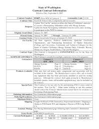 Awe-Inspiring Contract Template Sample With Details Information On ...