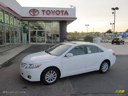 2011 Super White Toyota Camry XLE #54630546 | GTCarLot.com - Car ...