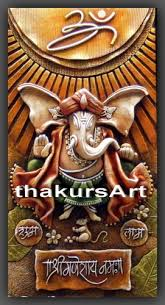 ganesha paintings 3d mural on ganesh 3d wall art with 3d ceramic mural ganesha paintings 3d mural manufacturer from mumbai