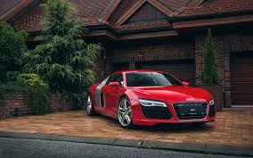 red audi r8 wallpaper. Perfect Red Audi R8 Red Throughout Wallpaper