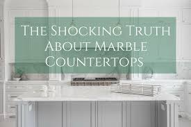 marble is both timeless and totally on trend and many of you may be considering installing marble countertops in your kitchen