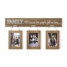 better homes gardens 4 x 6 family hanging collage picture frames