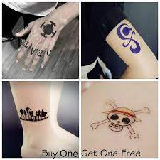 Luffy as he tries to save his brother portgas d. 7 Style Anime Naruto One Piece Trafalgar Law Nami Gumiho Temporary Tattoos Waterproof Fake Tattoo Sticker Art Decals Cartoon Tattoo Adventure Hand Foot Body Tattoo Arm Sticker For Women Men Wish