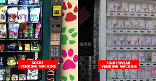 Japan Underwear Vending Machines Custom Have Look At These Strangest Vending Machines From Around The World