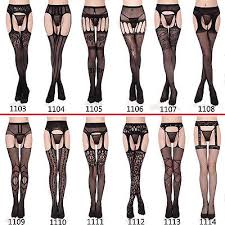 Patterned Pantyhose Fascinating Women's Black Lace Fishnet Tights Hollow Patterned Pantyhose Tights