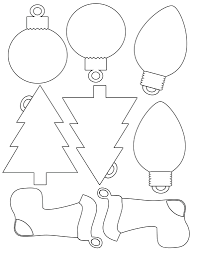 Christmas Ornament Patterns Cool Decoration