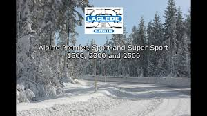 New Laclede Chain Manufacturing Alpine Tire Chain Installation