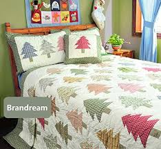 Christmas Bedding Sets | Christmas bedding, Bedding sets and Tree bed & Brandream Kids Christmas Bedding Christmas Tree Bed Set Patchwork Quilts  Twin… Adamdwight.com