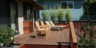 Decking Designs For Small Gardens Interesting Deck Size Height Landscaping Network