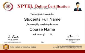 Online Certificates Free Get 100 Free Iit Iisc Online Courses And Certificate Thanks To The
