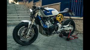 xtr honda hornet 600 sake racer cafe racer bikesworld