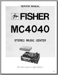 fisher mc 4040 service manual analog alley manuals