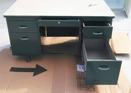 vintage steel furniture. brilliant furniture before of a vintage steel desk in vintage steel furniture