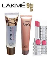 lakme 9 to 5 infallible mattifying base primer face weightless mousse foundation l paris lipstick
