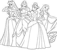 Princess Printable Coloring Pages Monitorthisinfo