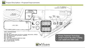 Design Of Screen In Wastewater Treatment Wastewater Treatment Plant Upgrade Project City Of Ferndale