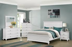 Cape Cod 6 Pc Queen Size Bedroom Set   Queen Bedroom Set - White ...