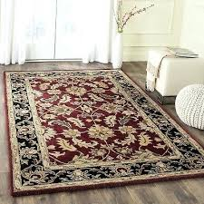 10x14 wool rug handmade wool rug burdy black oriental area rugs modern room decor 10 x