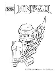 Ninjago Movie Jay Coloring Pages