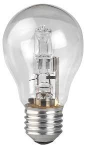 <b>Лампа галогенная ЭРА</b>, Hal-<b>A55</b>-<b>50W</b>-<b>230V</b>-<b>E27</b>-<b>CL</b> E27, 50Вт ...