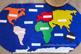 Image result for montessori geography