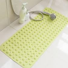 tasteless non slip bathroom rug bath inserts shower mat carpet with tpr er bug