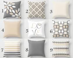 Throw Pillow Cover Designs Neutral Pillow Covers Decorative Throw Pillows Home Decor